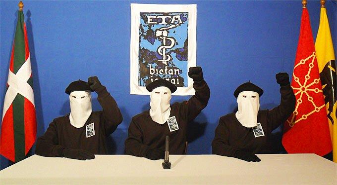 Une vidéo de l'ETA en 2011