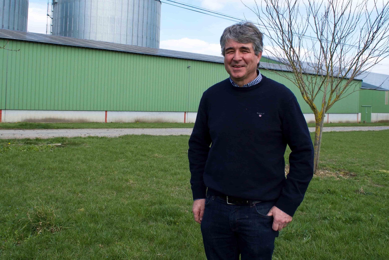 Thierry Bouret, céréalier et pro Bassines