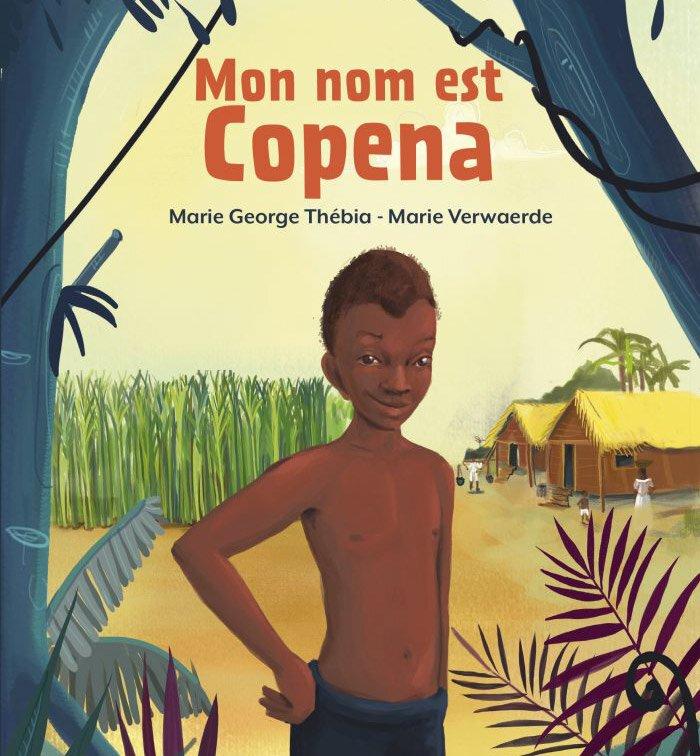 """Couverture du livre """"Mon nom est Copena"""""""