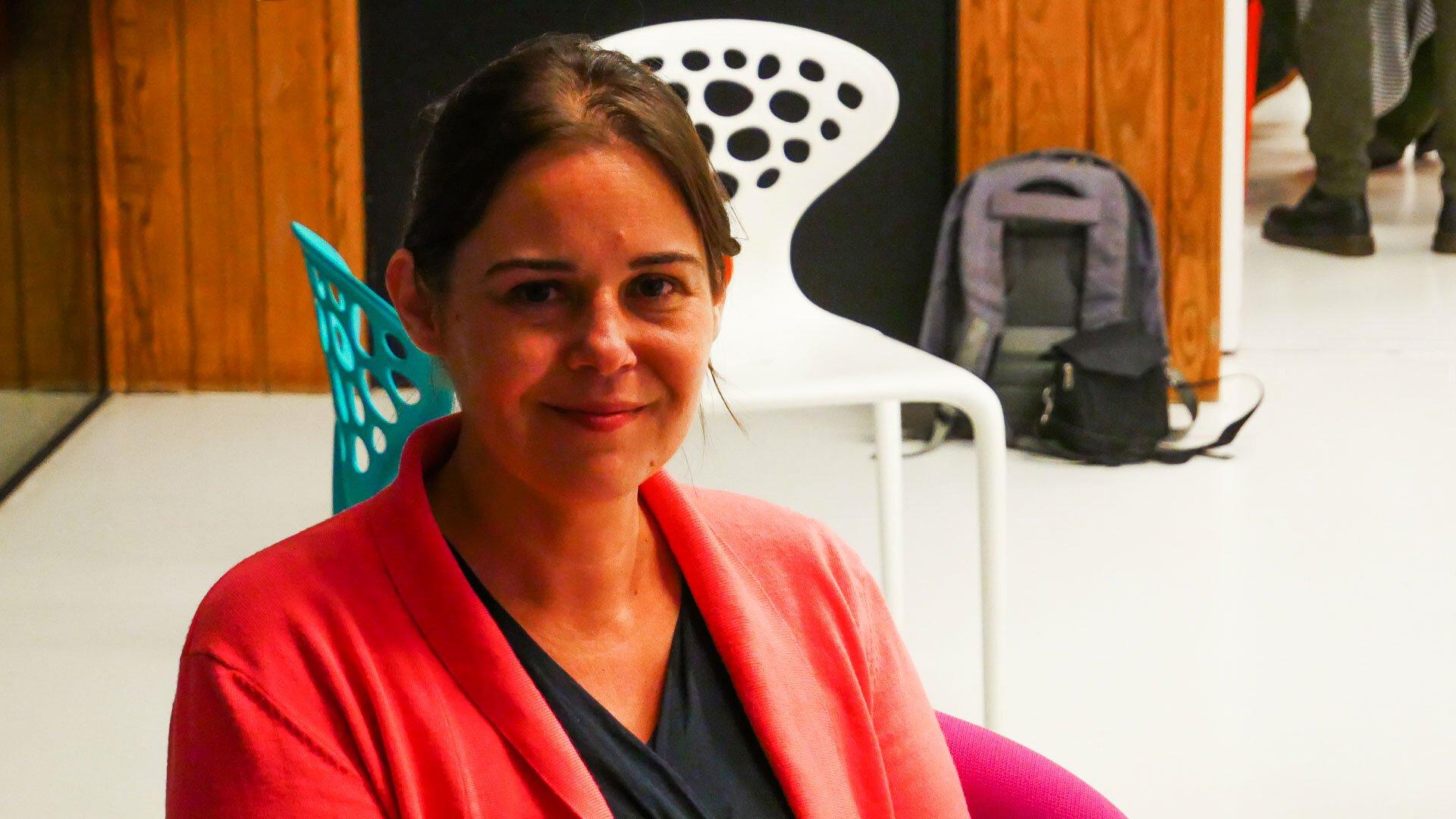 Gwenola Ricordeau.