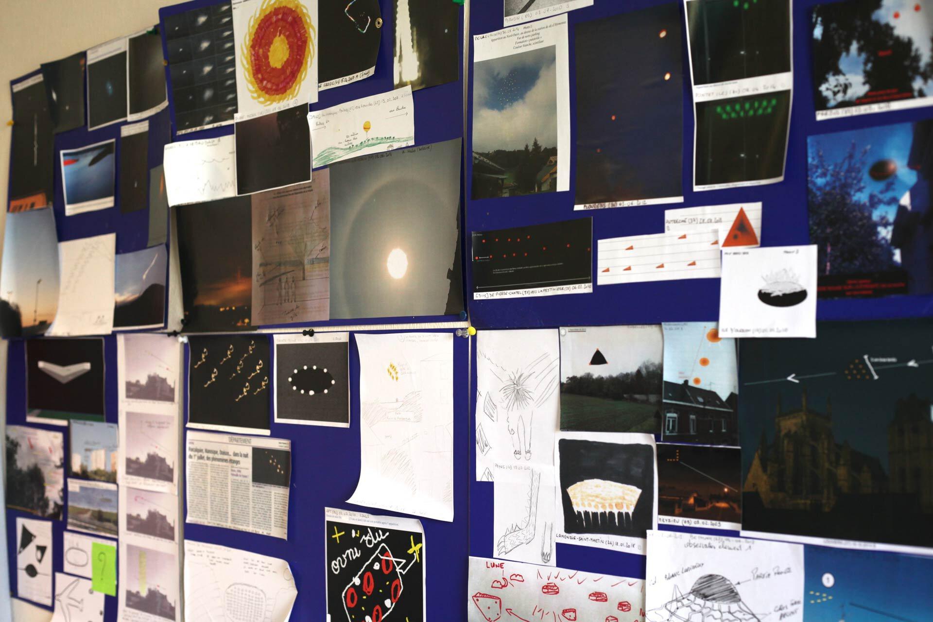 Les images de phénomènes qu'étudie le Geipan.