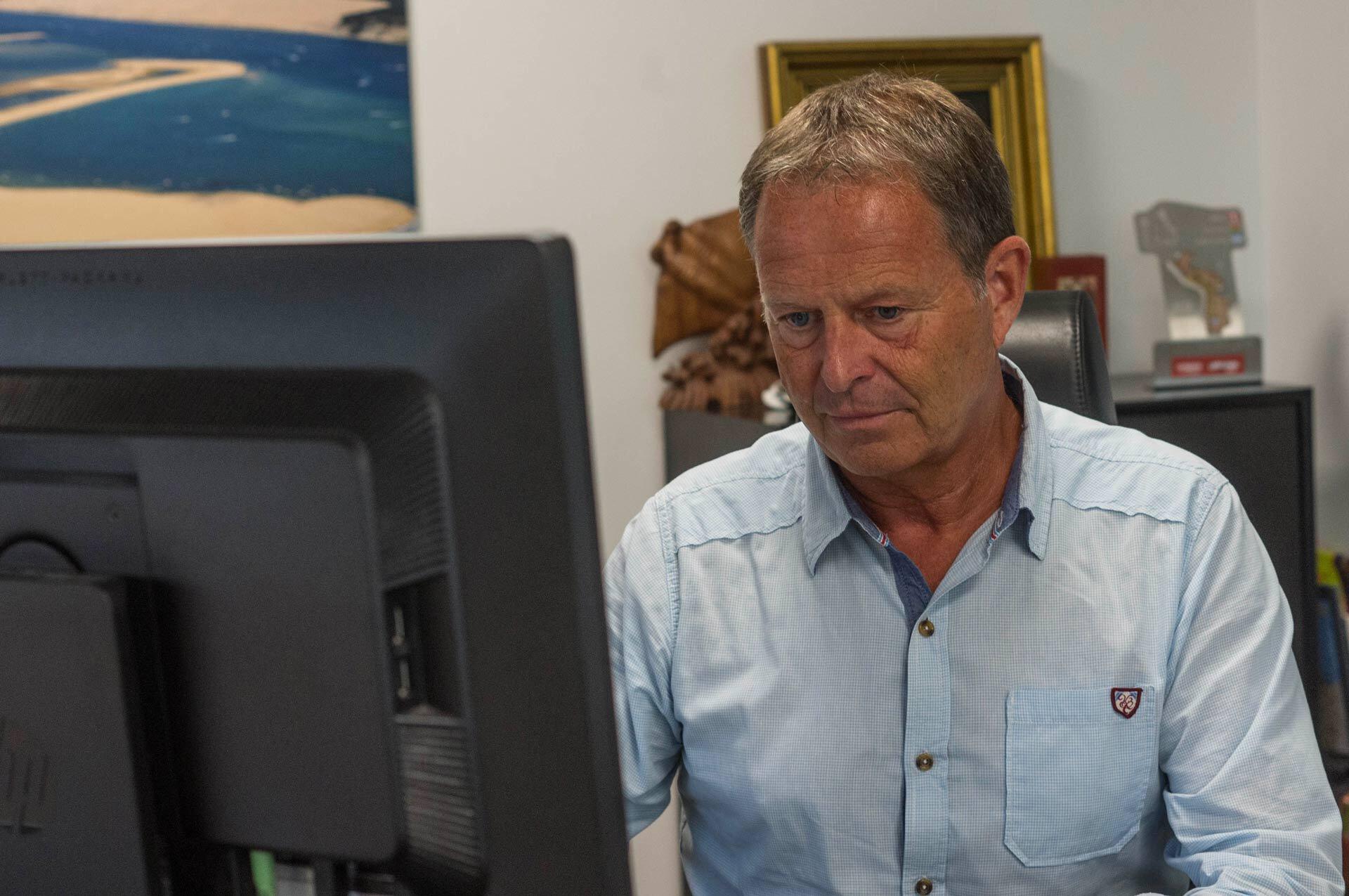 Stéphane Mangnez, à la tête de Ramset NSO.
